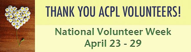 Thank You ACPL Volunteers!