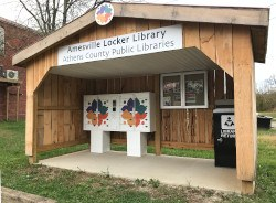 Amesville Locker Library
