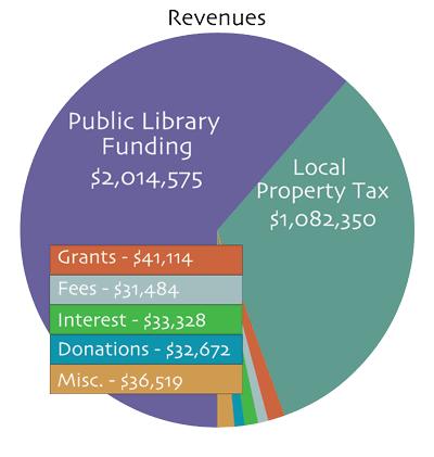 2019 library revenue sources