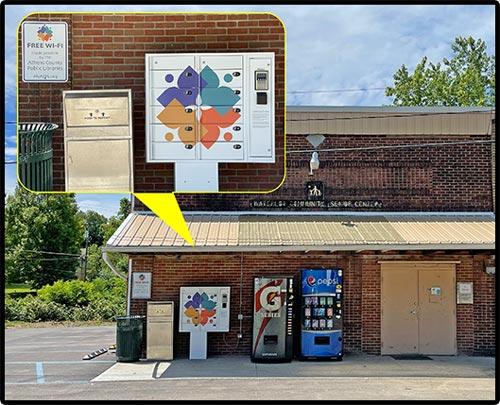 New Marshfield Locker Library